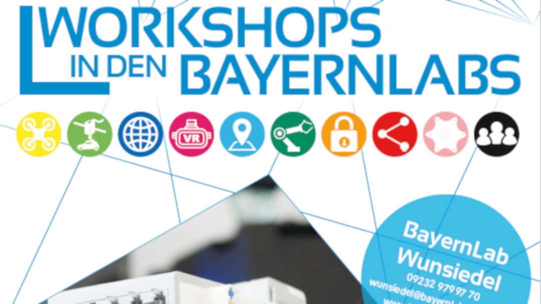 Grafik Workshops  in den BayernLabs